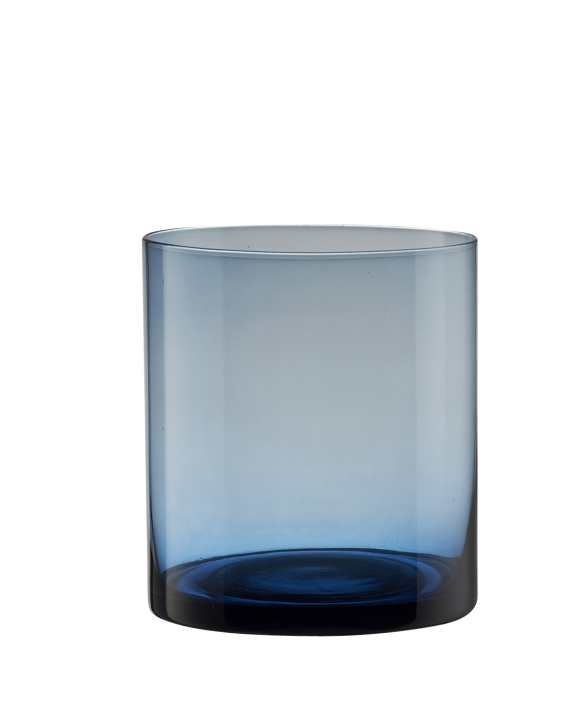 Large Navy Blue Tealight
