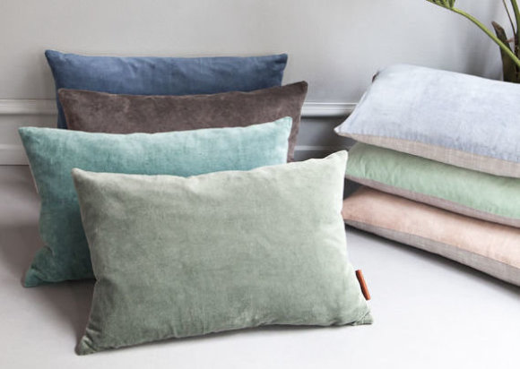 Small Velvet Cushion | Assorted Colours | 50x30