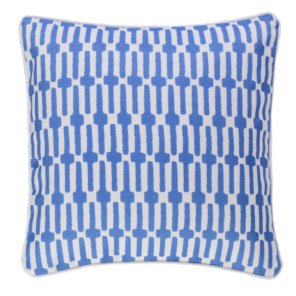 Links Indoor & Outdoor Cushion | Cobalt