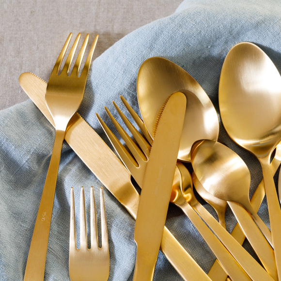 Luxury Gold Cutlery Set (20 piece)