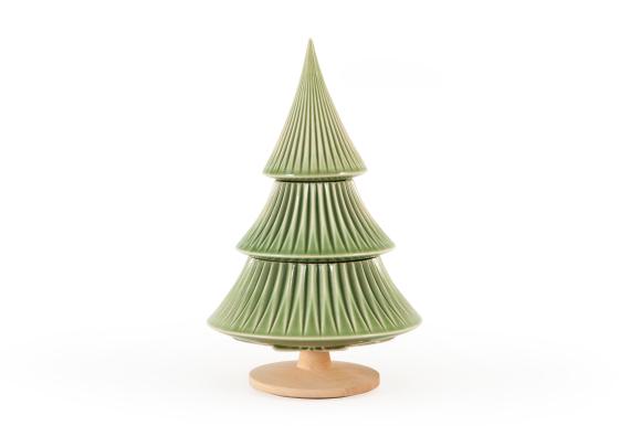 Ceramic Christmas Tree (Green)