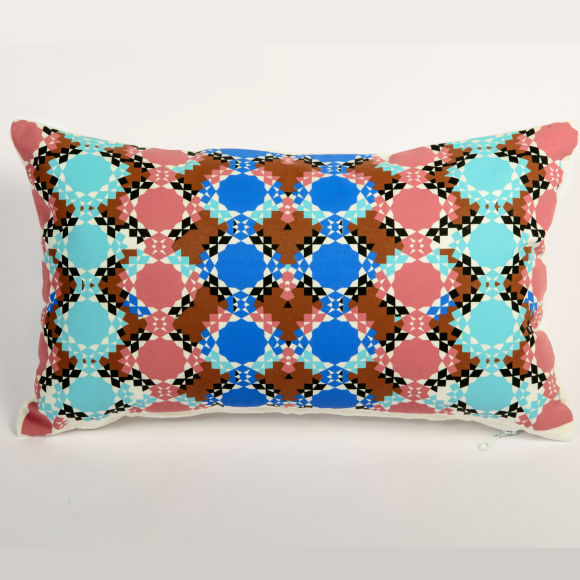 Moroccan Cushion | Zelliges Multi-Coloured
