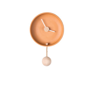 Totide' Wall Clock (orange)