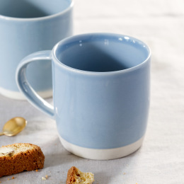 Shell Bisque Mug | Assorted Colours