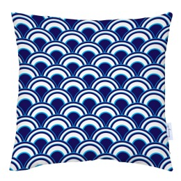 Blue Shells Cushion by Tomy K | 40x40
