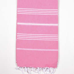 Ibiza Hammam Beach Towel, Blush Pink
