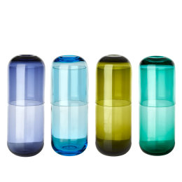 Carafe & Glass Set | Multicoloured | Set of 4