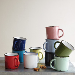 Tinware Mugs by Canvas Home
