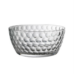 Clear Lente Salad Bowl