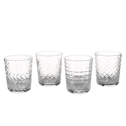 Clear Tumblers | Set of 4
