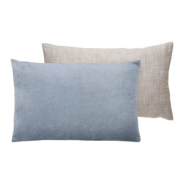 Cotton Velvet Cushion (blue)
