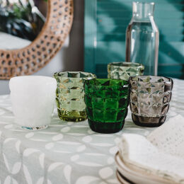 Diamante Acrylic Tumbler | Assorted Colours
