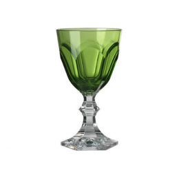 Dolce Vita Acrylic Wine Goblet | Green