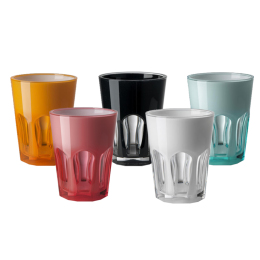 Double Face Acrylic Tumbler | Assorted Colours