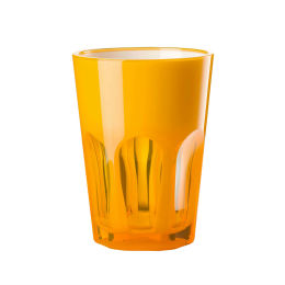 Double Face Acrylic Tumbler | Orange