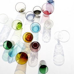 Eau Minerale Glass by Canvas Home