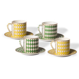 Espresso Chess Cups | Set of 4