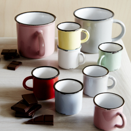 Tinware Espresso Cups by Canvas Home (set of 6)