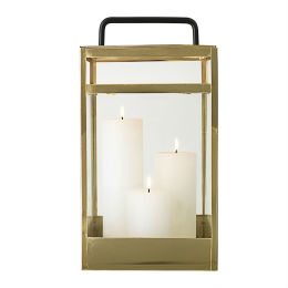 Gold Lantern | Stainless Steel