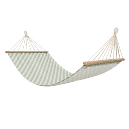 Pale Green Stripe Hammock