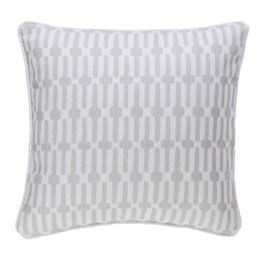 Links Indoor & Outdoor Cushion | Pearl Grey