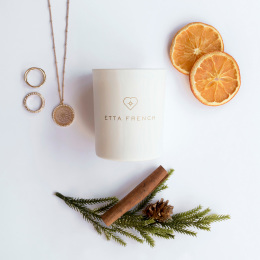 Nutmeg, Orange & Cinnamon Jewellery Candle