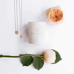 Rose, Saffron & Vetiver Jewellery Candle