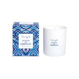 Scents of Greece Candle By Tomy K | Lemongrass