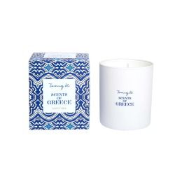 Scents of Greece Candle By Tomy K | Mastiha
