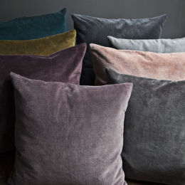 Square Velvet Cushion | Assorted Colours