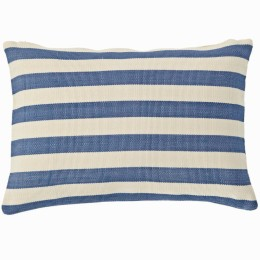 Trimaran Indoor/Outdoor Cushion (denim/ivory)
