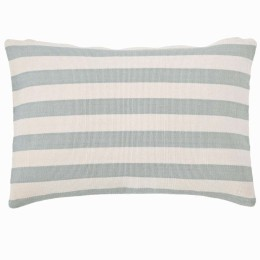 Trimaran Outdoor Cushion | Light blue/ivory
