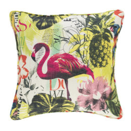 Tropics Flamingo Indoor & Outdoor Cushion