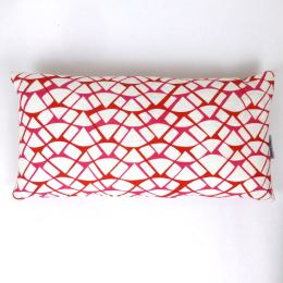Red Watermelon Cushion by Georgia Bosson | 60x30