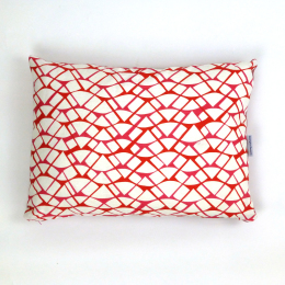 Red Watermelon Cushion by Georgia Bosson | 60x45