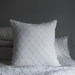 White Diamond Cushion