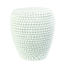 White Dot Stool
