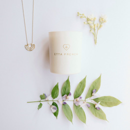 Wisteria & Orange Blossom Jewellery Candle