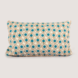 Moroccan Cushion | Zelliges Blue Star