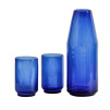 Blue Carafe & Glass Set