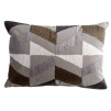 Boheme Embroidered Cushion | Truffle