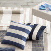 Catamaran Indoor & Outdoor Cushion | Navy & White Stripe