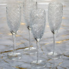 Clear Champagne Glasses | Set of 4