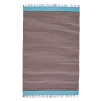 Electra Rug | Chocolate & Cream Stripe