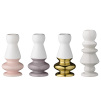 Set of Four Candle Holders | Assorted Colours