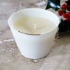 Christmas Candle (white) by Ana Bridgewater