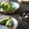 Pair of Antique Brass Platters | Assorted Colours