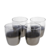 Platinum Water Glasses | Set of 4