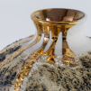 Textured Vase | Gold Lustre