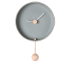 Totide' Wall Clock, Large | Grey